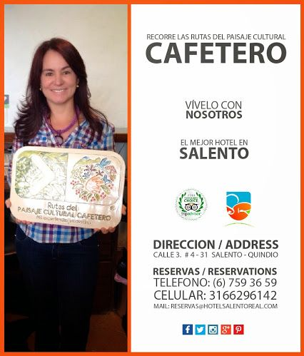 Recorre las #rutasdelcafe con nosotros Hotel Salento Real