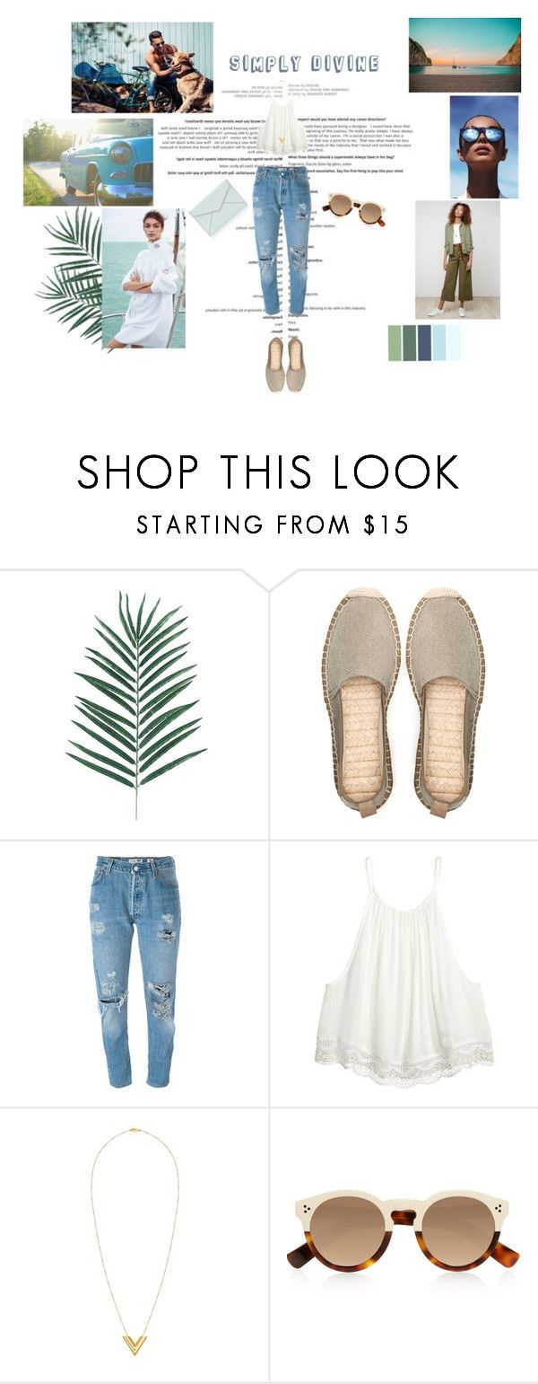 """""""Simply divine"""" by dandinou ❤ liked on Polyvore featuring Le Specs, Pull&Bear, Levi's, Louis Vuitton, Illesteva, Rebecca Minkoff and Madewell"""