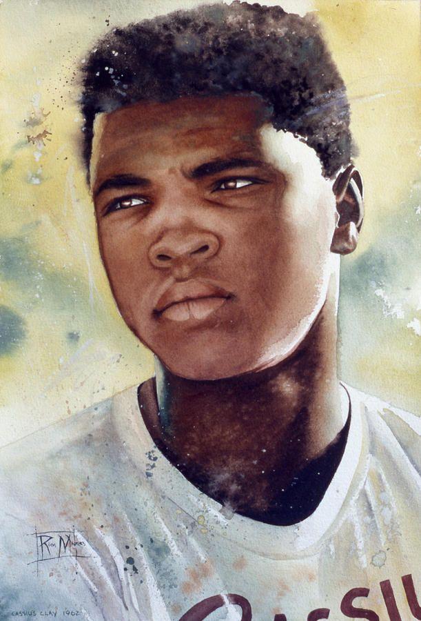 Italian Boy Name: Clay Paint And Muhammad Ali