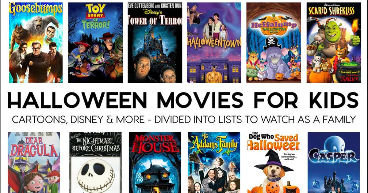 Halloween Movies for Kids (Thirty Handmade Days) Kid
