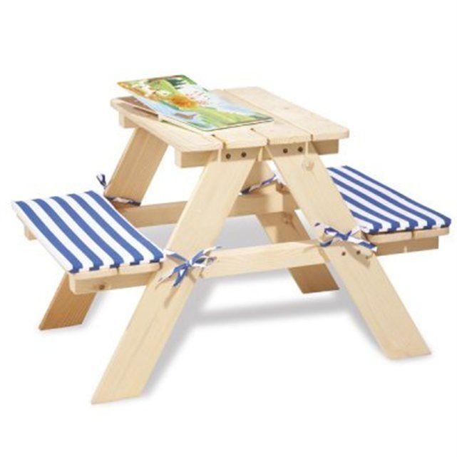 une table adapte la taille des enfants pour passer des heures jouer dessiner ou manger en tant confortablement assis la table de pique nique pour - Table Et Chaise De Jardin Pour Enfant