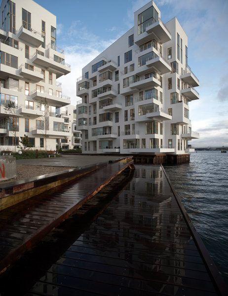 Harbour Isle Apartments By Lundgaard Tranberg Copenhagen