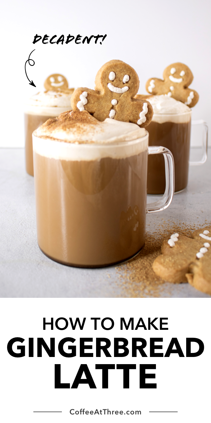 How To Make A Gingerbread Latte Delicious Gingerbread Latte Easy Coffee Recipes Homemade Whipped Cream