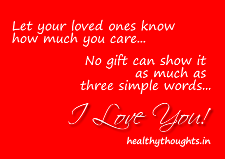 Let Your Loved Ones Know How Much You Care No Gift Can Show It As