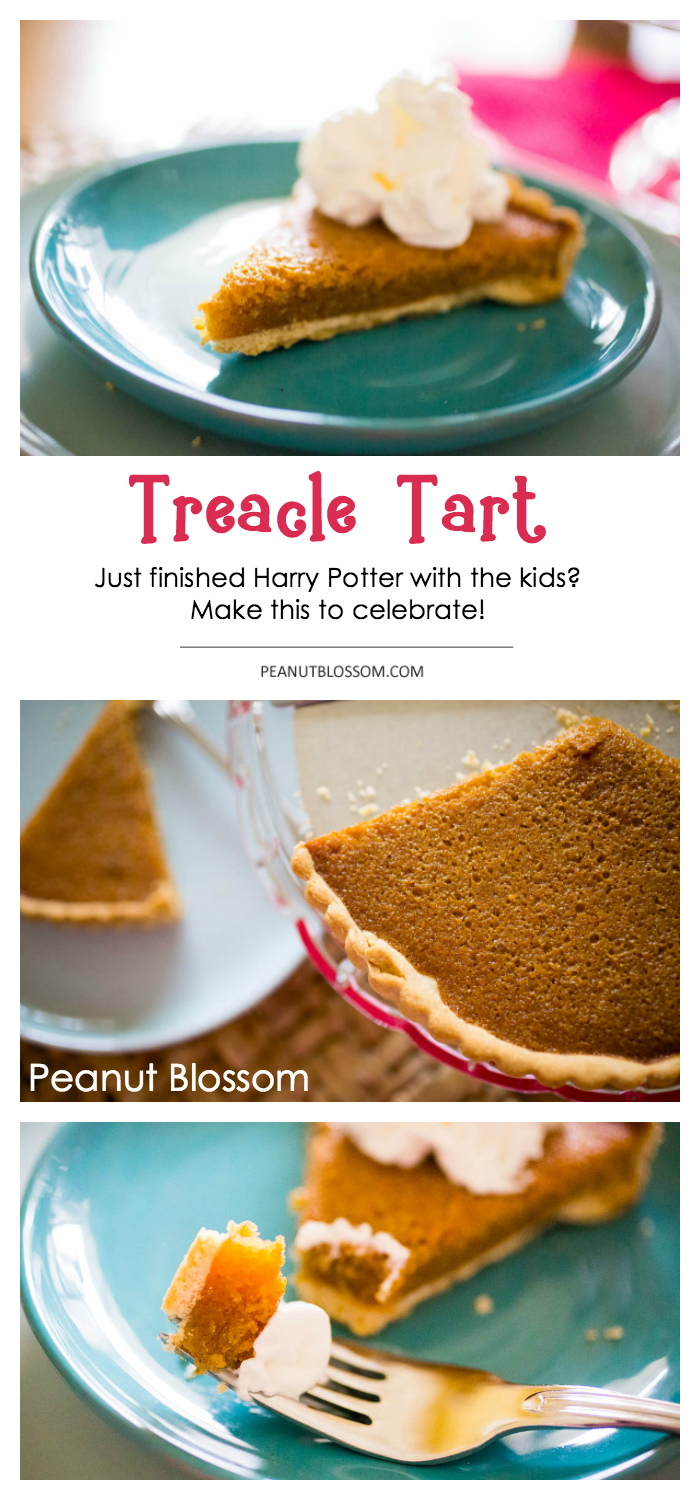 A Simple Treacle Tart Recipe For Harry Potter Fans Recipe Tart Recipes Treacle Tart Food