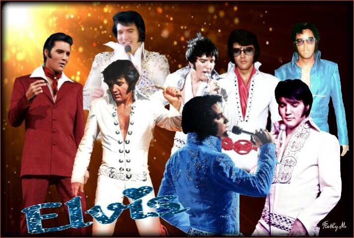 Different stages of elvis