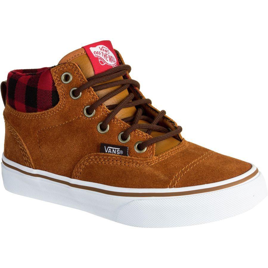 b7fd4d3fa60d8d Vans - Era Hi MTE Shoe - Boys  - (MTE) Glazed Ginger Plaid