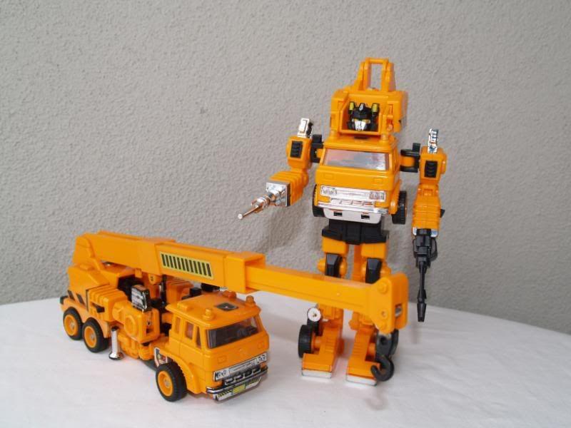 Transformers G1 Grapple