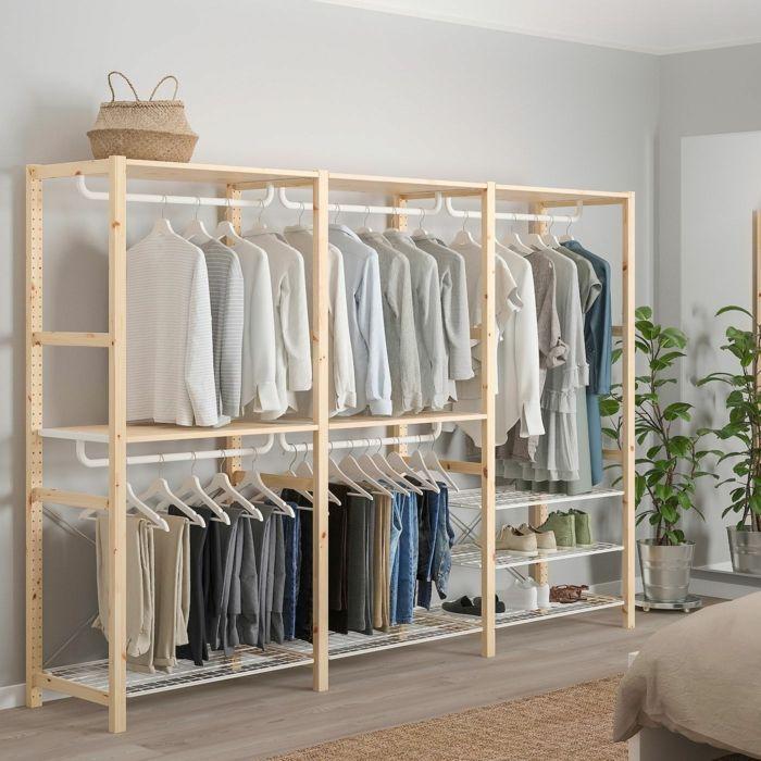 Ankleidezimmer Gunstig Selber Machen Offener Ikea In 2020 Ankleide Zimmer Ankleidezimmer Ankleide