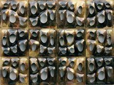 Adaesi Ukairo working with copper and brass