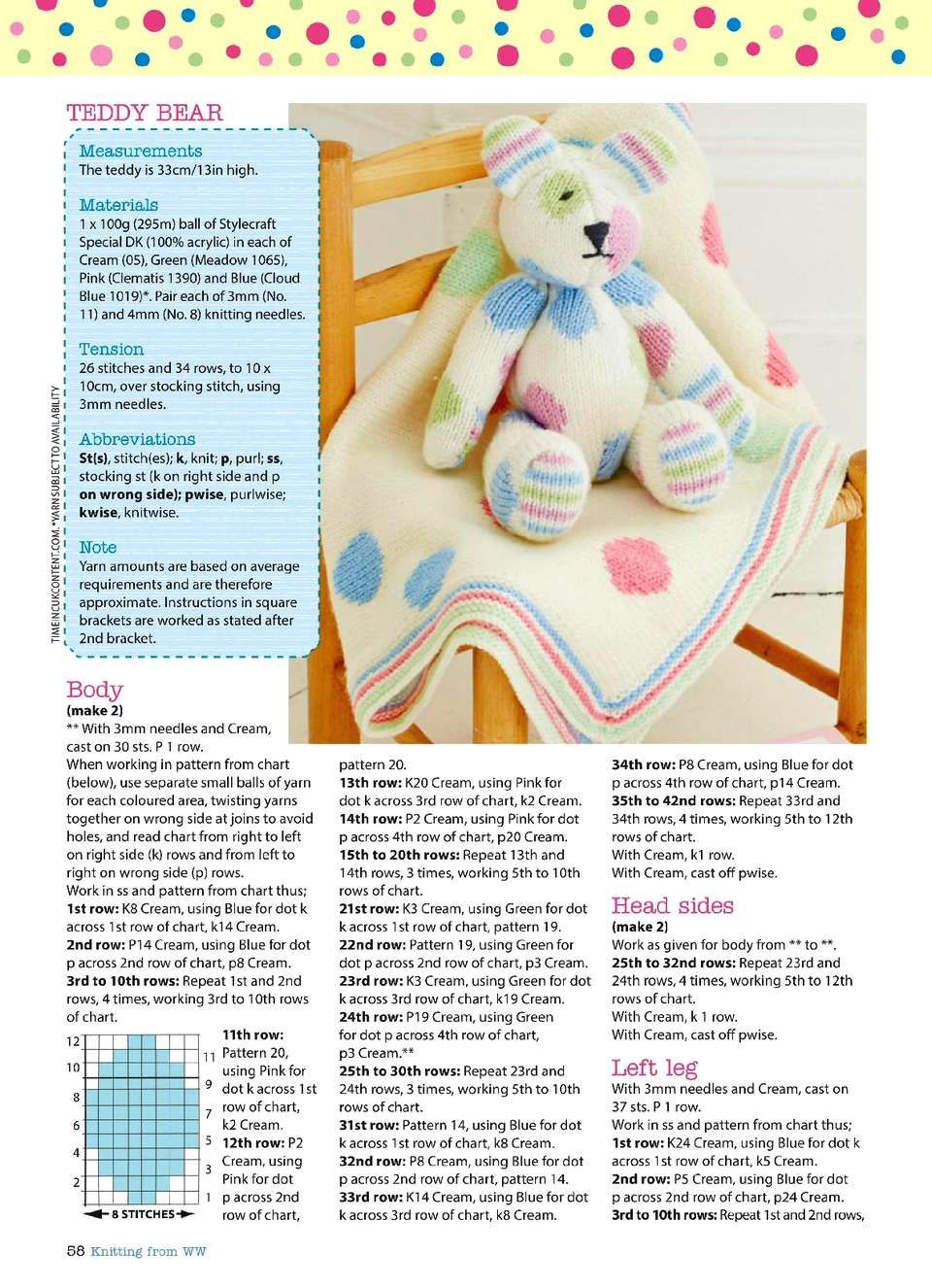Knitting & Crochet from Woman\'s Weekly March 2018. — HandMade   Knitting