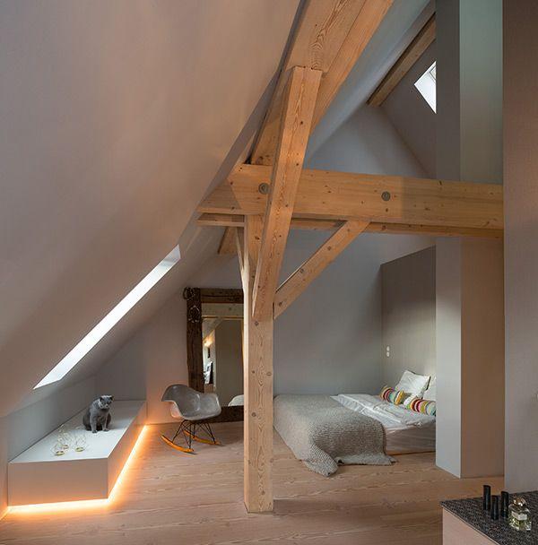 Dachgeschoss Einrichten Ein Optimales Und Charmantes T
