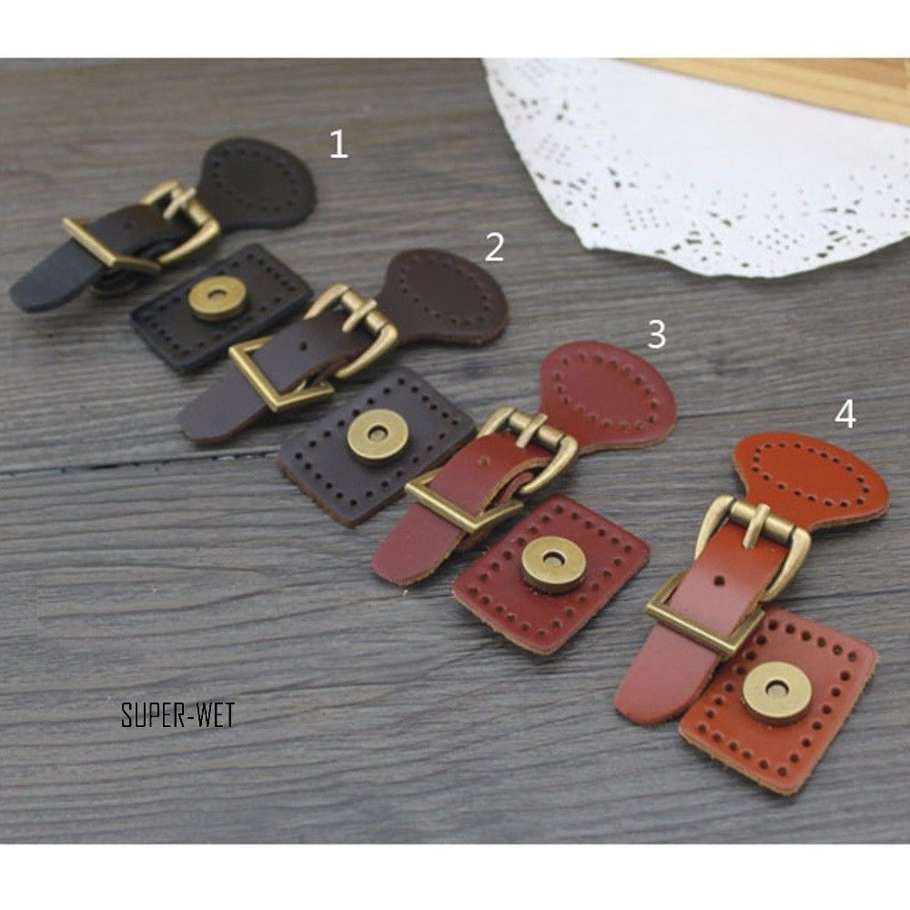 Details About Pu Leather Buckles Bag Making Fastener