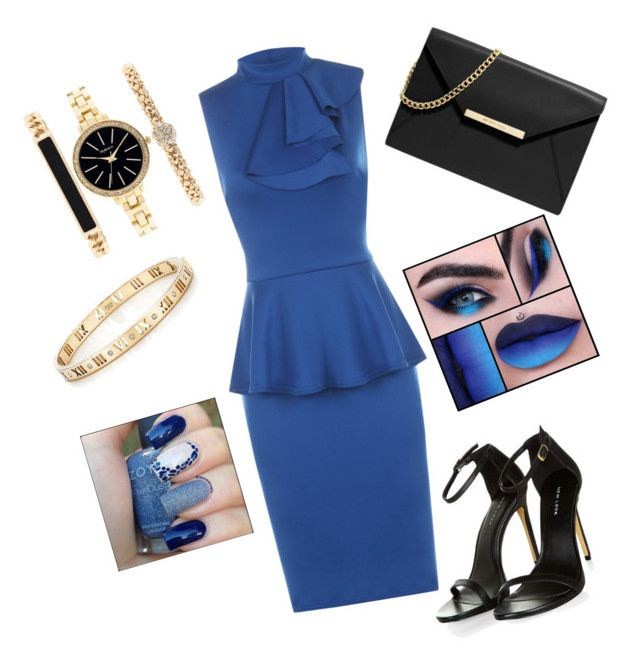 """Blue Rush"" by sapphiregemcouture on Polyvore featuring WearAll, MICHAEL Michael Kors, Tiffany & Co. and Style & Co."