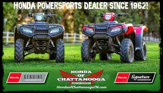 Chattanooga TN Honda ATV Dealer : Honda Of Chattanooga. TN / GA / AL Area