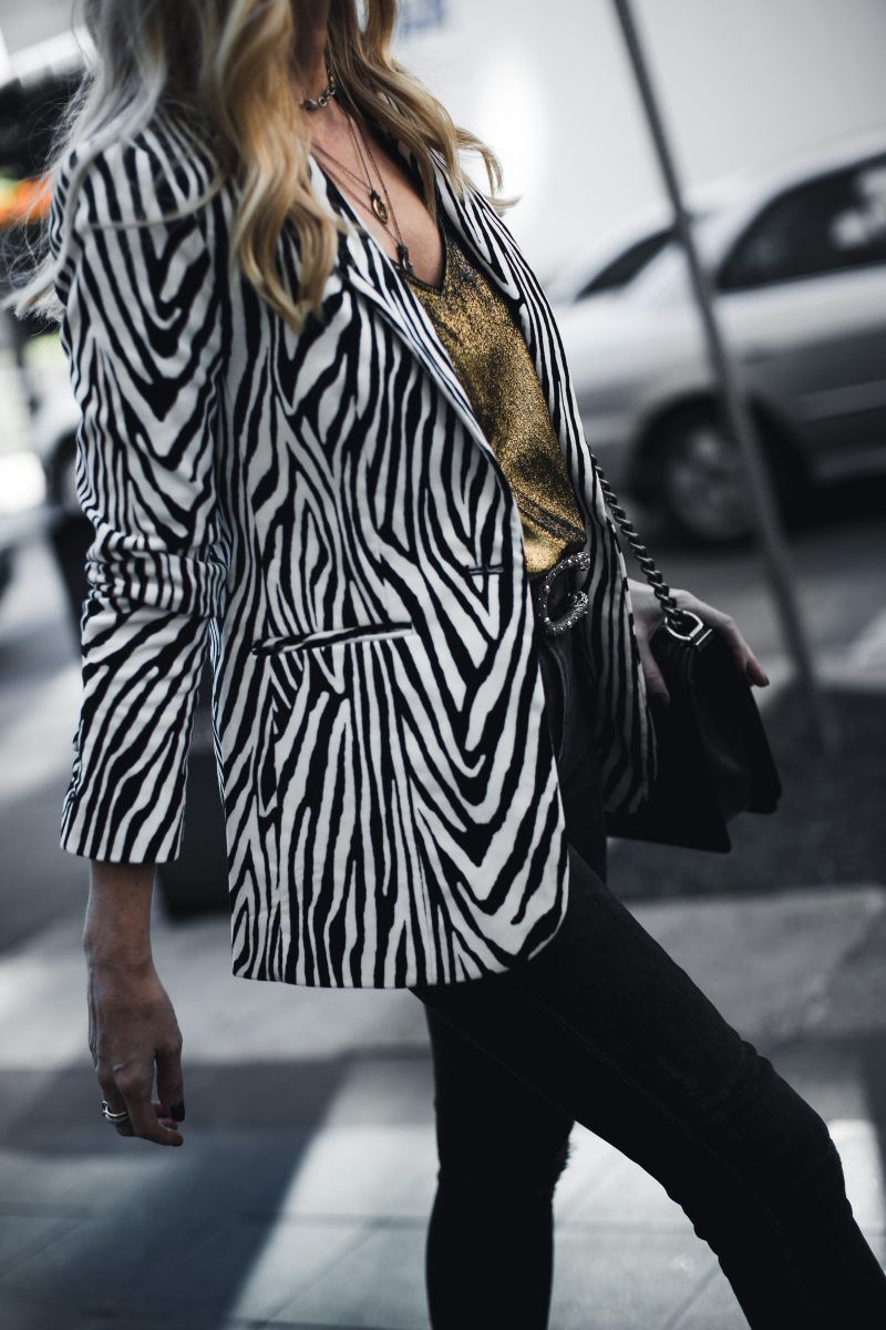 Black Friday Sales Zebra Print Clothes Fashion Fashion Blogger