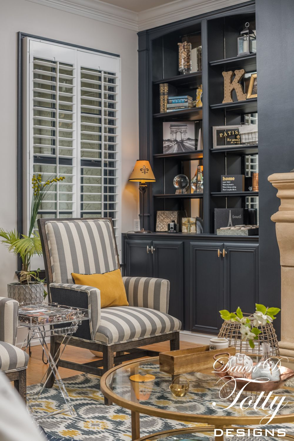 Parisian Inspired Living Room Design By Dawn D Totty