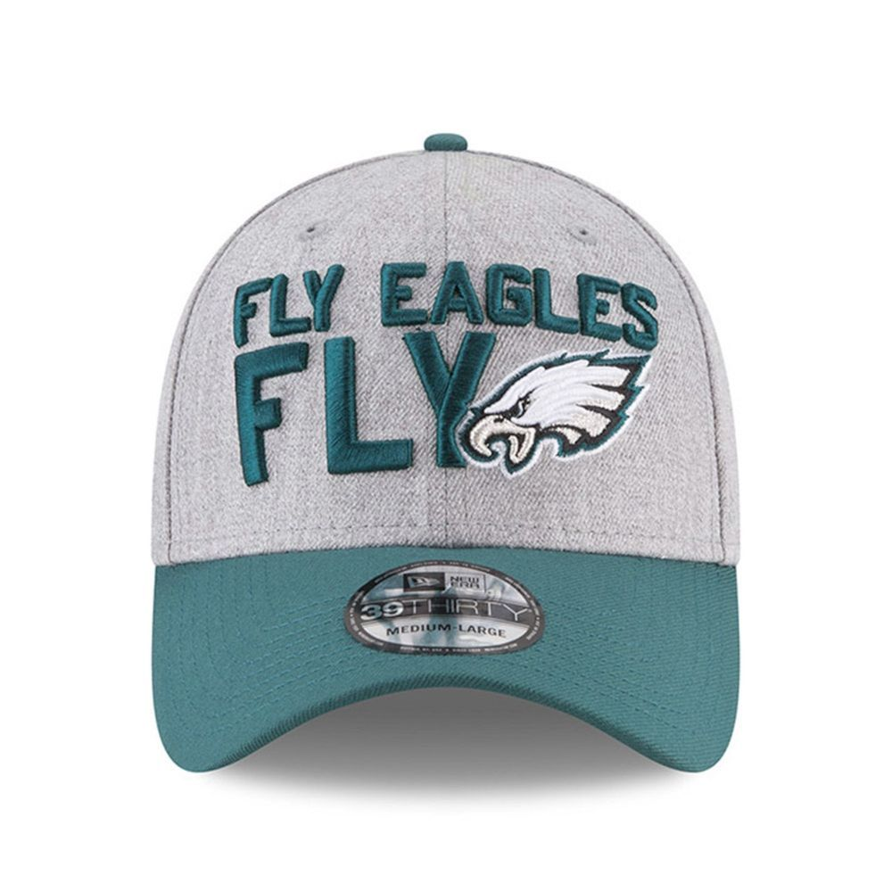 042e060eb24 Philadelphia Eagles Fly Cap NFL Football Official Adjustable S M Hat  39Thirty  NewEra  PhiladelphiaEagles