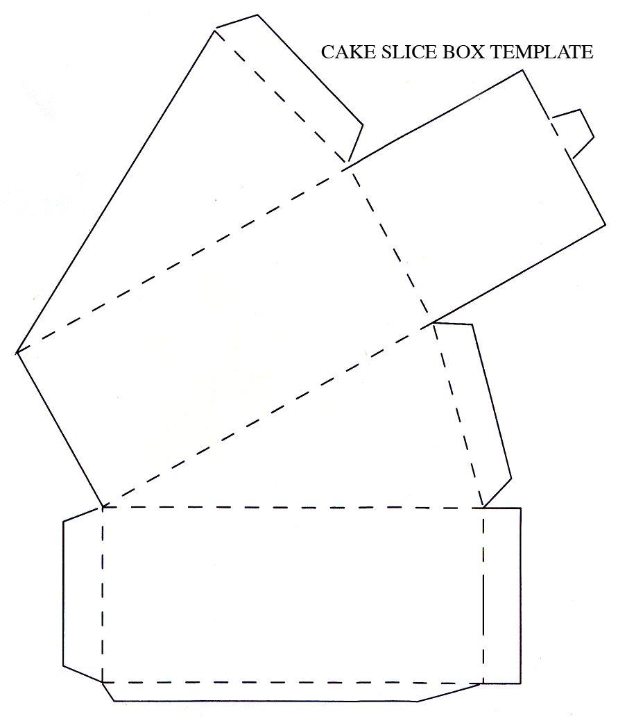 diy cake box template - Selo.l-ink.co