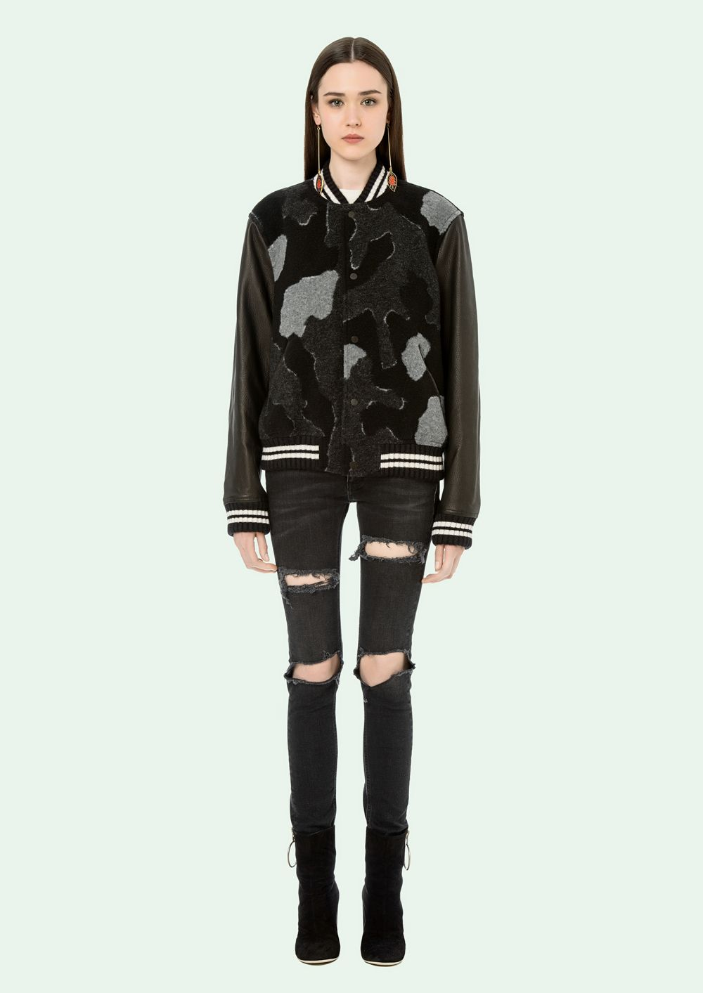 OFF WHITE - Leather Jacket - OffWhite