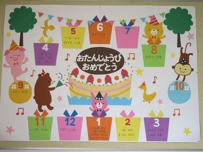 Pin By 青 On 保育 壁面 Art For Kids Birthday Charts Crafts