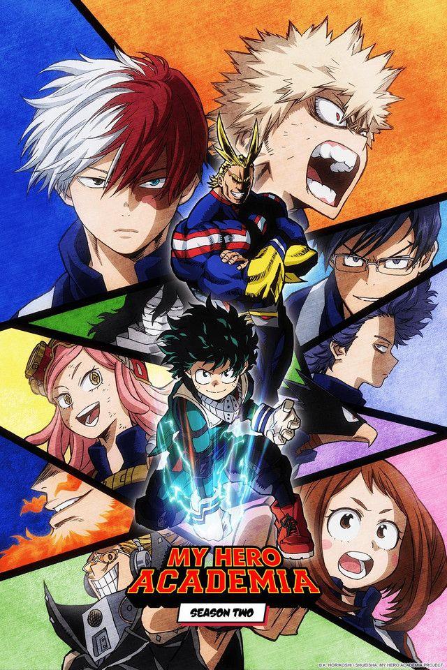 Crunchyroll New Challenges Arise In My Hero Academia Pv Hero Poster Hero Academia Season 2 Hero Wallpaper