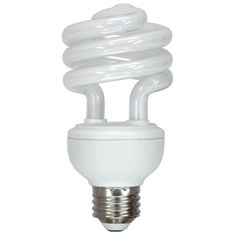 10 Watt Dc 12 Volt Cfl Medium Base Light Bulb Cool And Warm White Compact Fluorescent Lamp Lowvoltage Energysaving Soalr White Light Bulbs Light Bulb Bulb