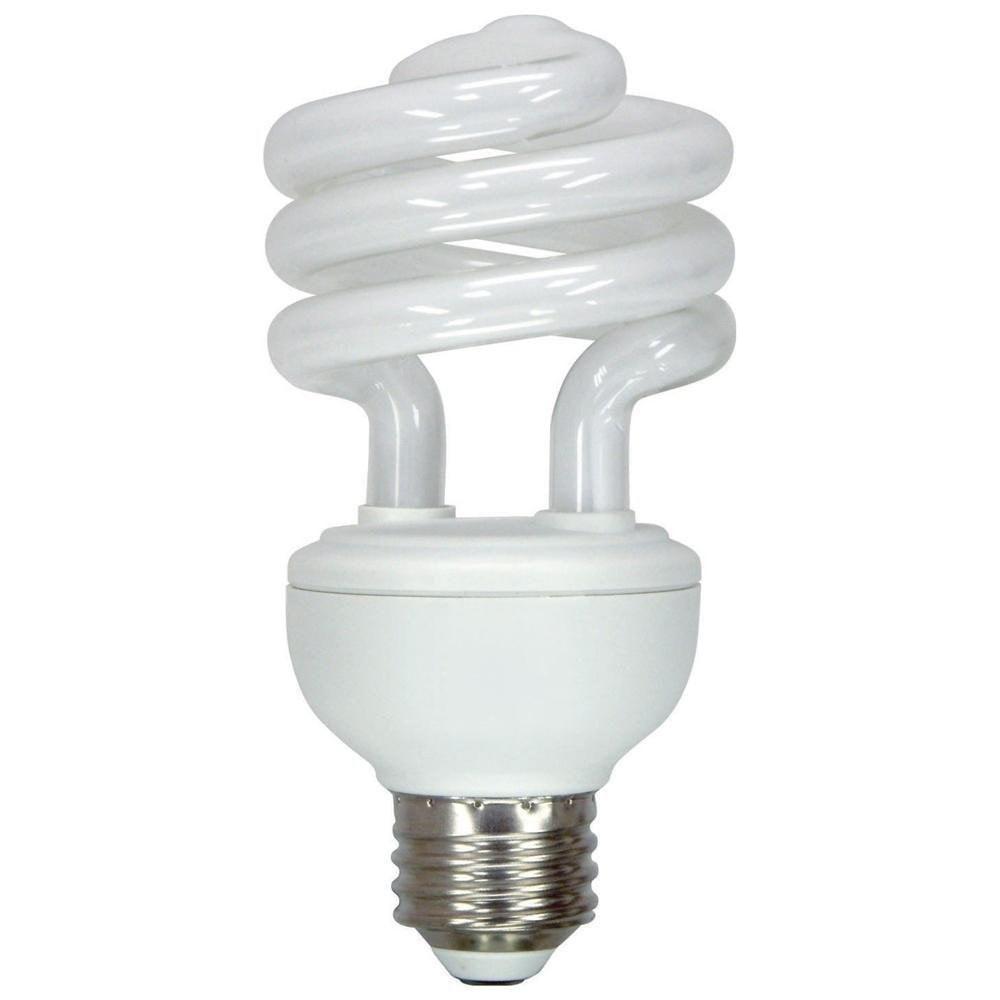 10 Watt Dc 12 Volt Cfl Medium Base Light Bulb Cool And Warm White Compact Fluorescent Lamp Lowvoltage Light Bulb Energy Saver Light Bulbs Light Bulb Design