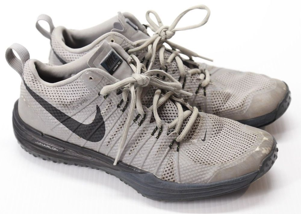 7015b01328b1 ... Nike Men s Lunar TR1 Flywire Grey Athletic Shoes Size 10.5 Nike  RunningShoes ...