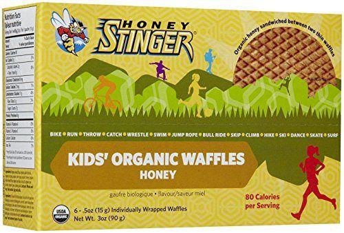 Honey Stinger Kid's Organic Honey Waffle, 0.5 Ounce (Pack of 6) - http://flowersnhoney.com/honey-stinger-kids-organic-honey-waffle-0-5-ounce-pack-of-6/