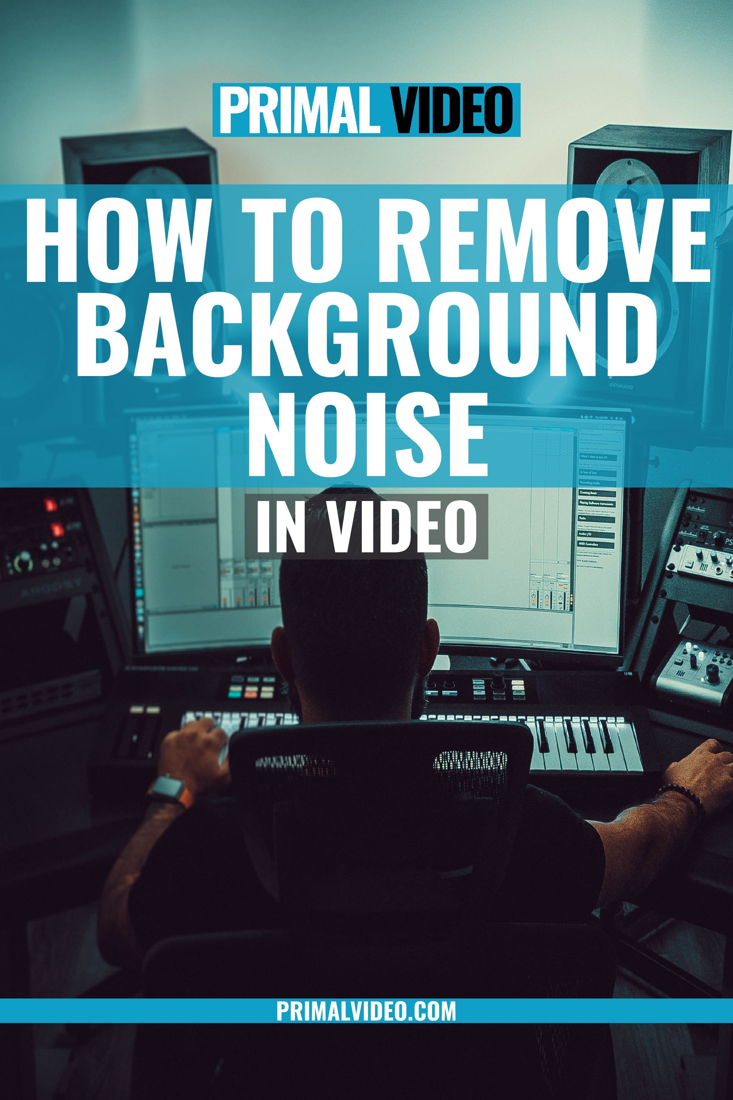 Learn how to remove background noise in this video