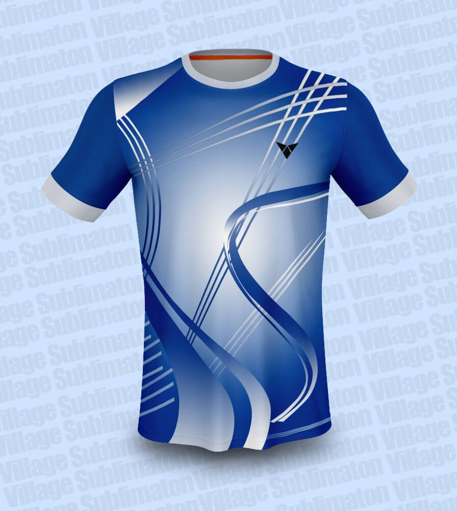 Download Hey Check This Cross Line Blue Badminton Jersey Design Rs 150 00 Https Buyjerseydesign Com Index Php Option Com J2store Jersey Design Jersey Design