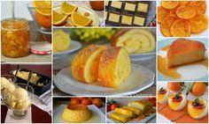 Deliciosos dulces con naranja