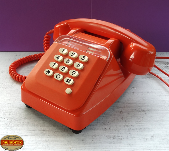 objet vintage t l phone orange socotel s63 des ann es 70 vintage pinterest plus d. Black Bedroom Furniture Sets. Home Design Ideas
