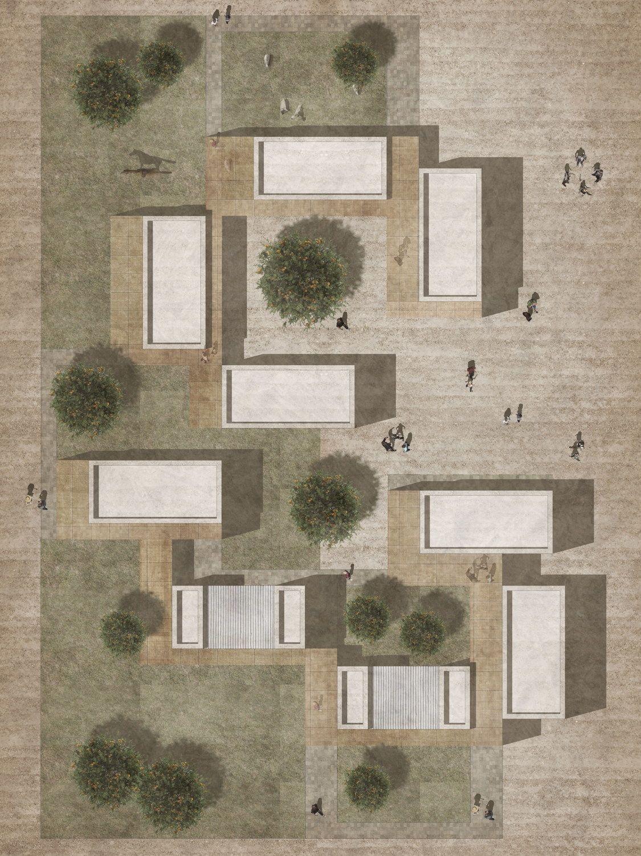 Heilsamer Garten - Therapiezentrum von ZRS Architekten Ingenieure im Irak