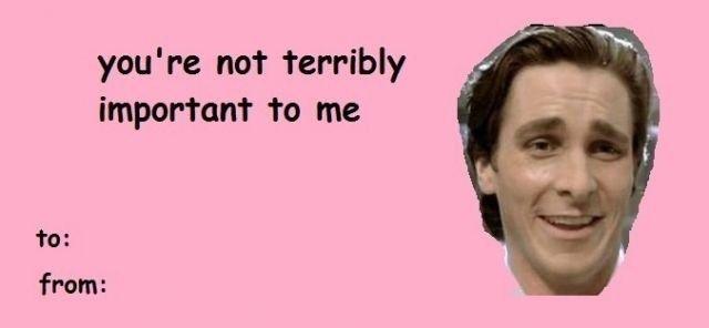 Happy Valentine S Day American Psycho Quotes American Psycho Valentines Day Memes