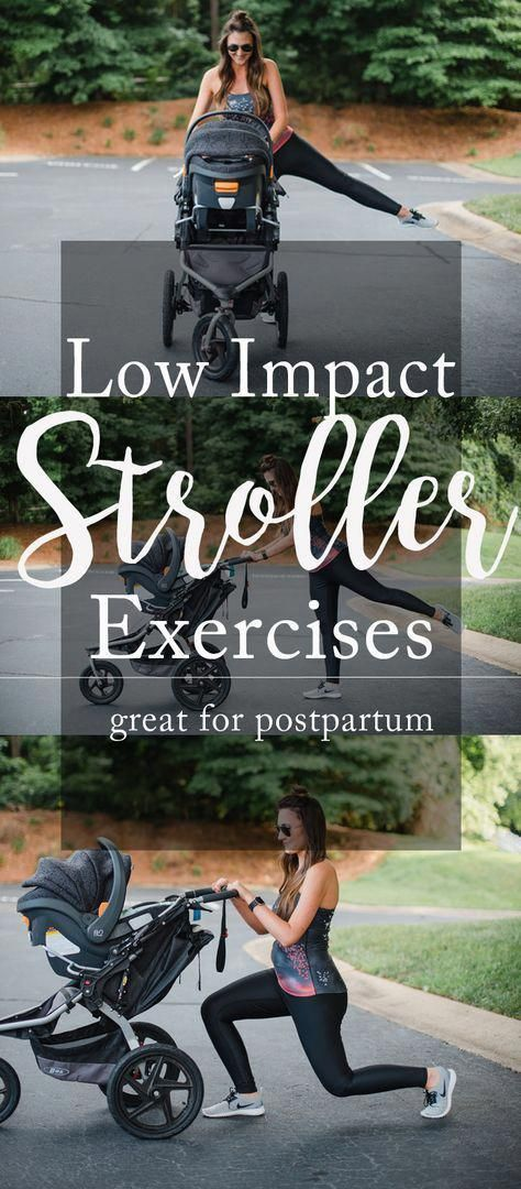 stroller workout for moms #Fitness