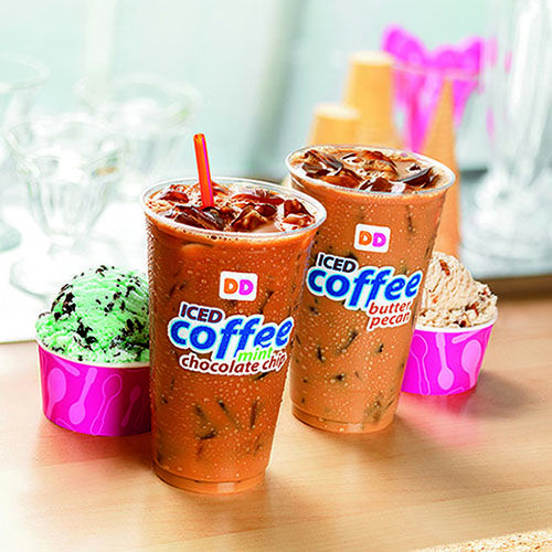 New Dunkin' Donuts Iced Coffee Flavors Inspired By Baskin