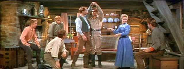 """Seven Brides For Seven Brothers"" (1954) - Milly teaches ..."