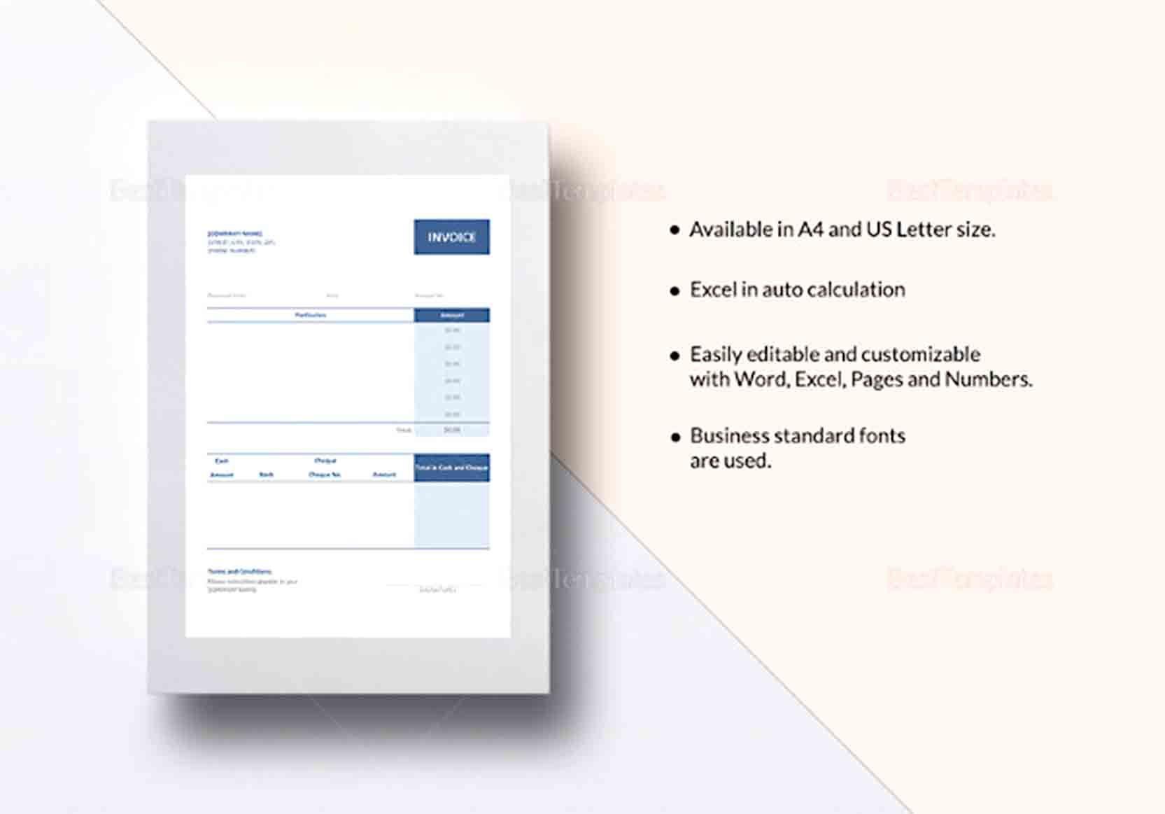 Sample Electronic Receipt Receipt Template Business Template Templates