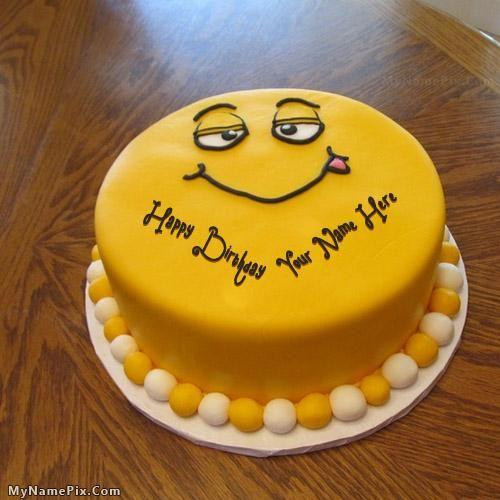 Write Name On Funny Cake For Kids Happy Birthday Cake Wishes Funny Birthday Cakes Funny Cake Happy Birthday Cakes