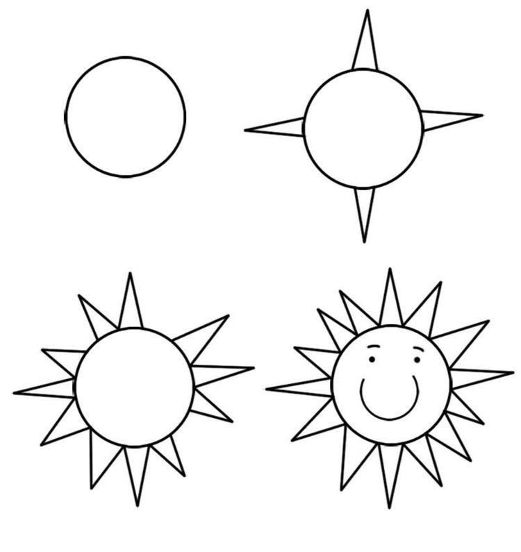 Zeichnen Lernen Mit Anleitungen Für Kinder Witzige Figuren