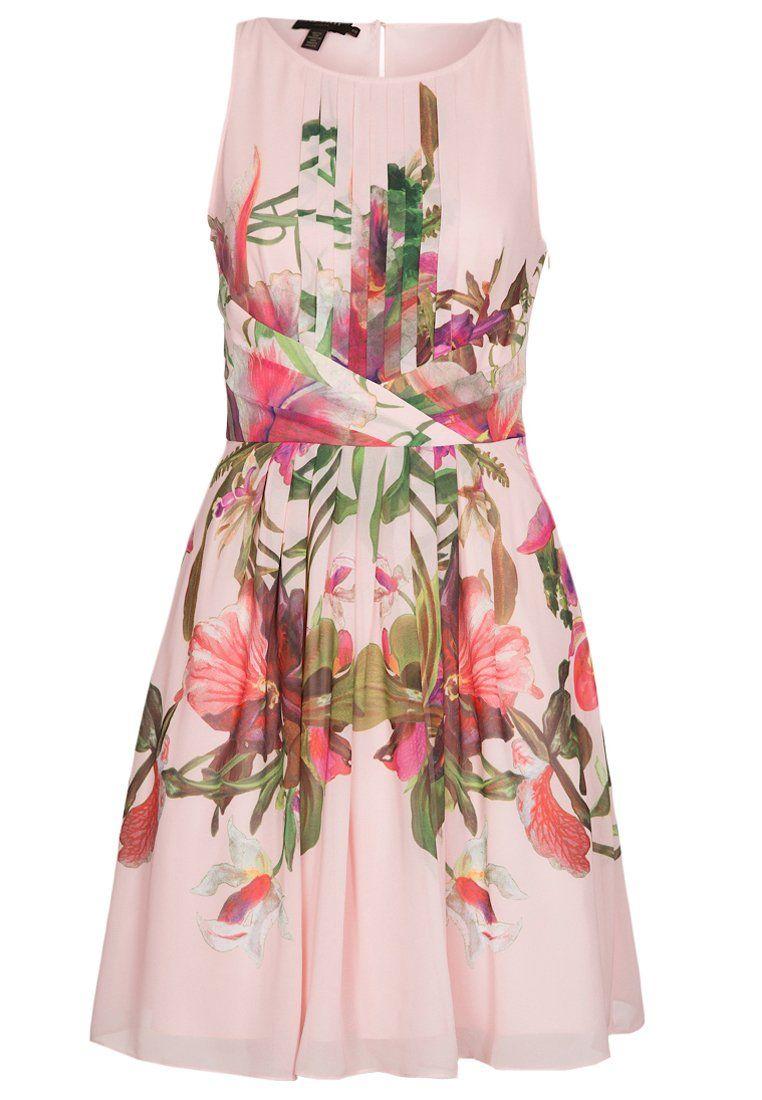 Ted Baker - Vestito elegante - rosa con stampa a fiori su #Zalando ...