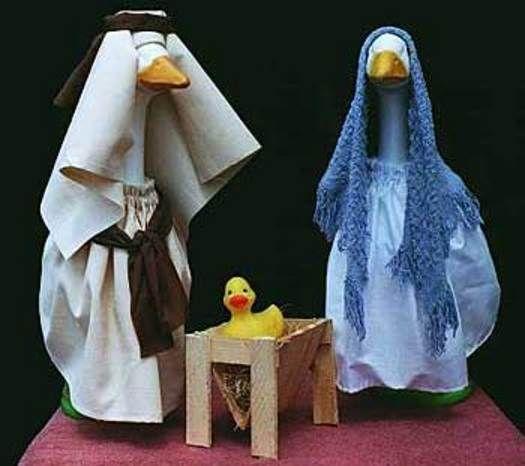 The Porch Geese Nativity Set Nativity Scene Nativity Set