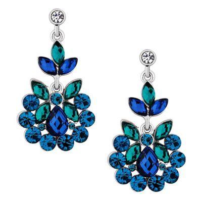 Butterfly by Matthew Williamson Designer blue stone chandelier ...