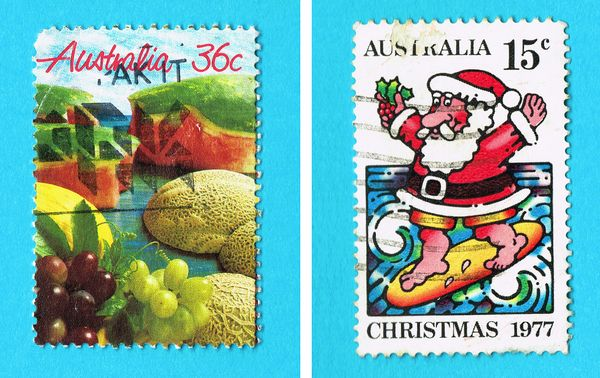 70s Australian Stamps