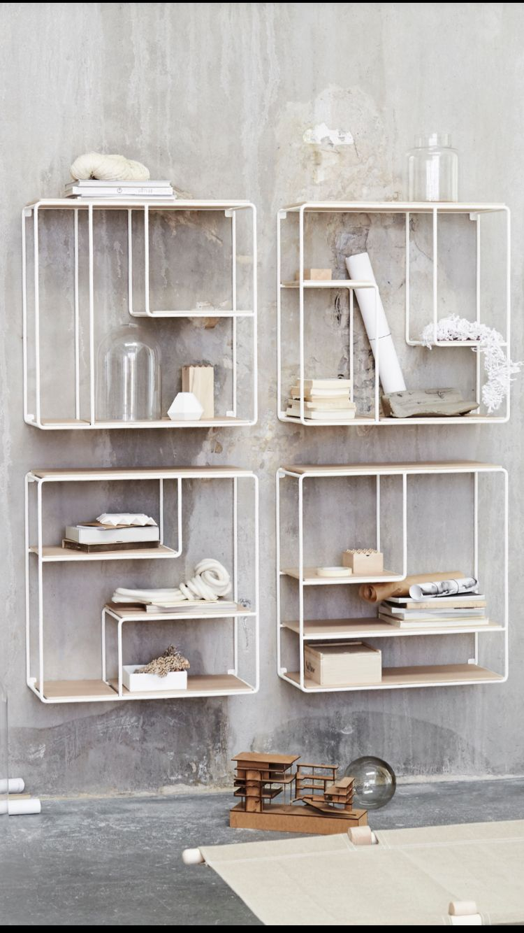 """Anywhere"" Storage Series for Korridor Design. Design by OOOJA Design"