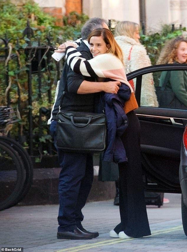 See Emma Watson on the Set of Little Women as Meg March