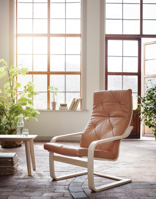 50 Stunning Scandinavian Style Chairs To Help You Pull Off The Look Ikea Poang Chair Scandinavian Style Chairs Ikea Chair