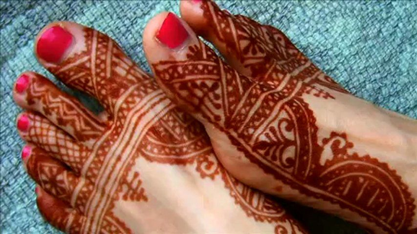 Mehndi Designs For Feet And Hands : Latest foot mehandi designs never seen before
